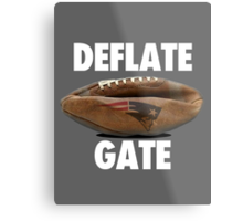 DEFLATE GATE New England Patriots  Metal Print