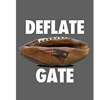 DEFLATE GATE New England Patriots  Photographic Print