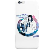 Community: Evil Jeff & Evil Annie iPhone Case/Skin
