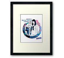 Community: Evil Jeff & Evil Annie Framed Print