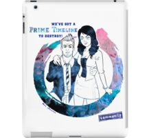 Community: Evil Jeff & Evil Annie iPad Case/Skin