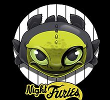 Night Furies by claygrahamart