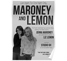 Maroney and Lemon Poster
