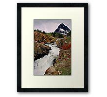 Glacier NP Stream 1 Framed Print