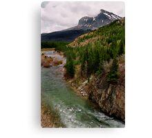 Glacier NP Stream 2 Canvas Print