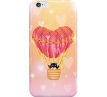 Cat in love iPhone Case/Skin
