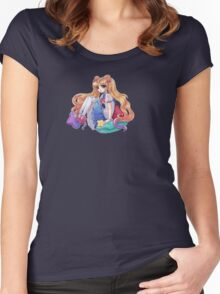 SailorMoon  Women's Fitted Scoop T-Shirt