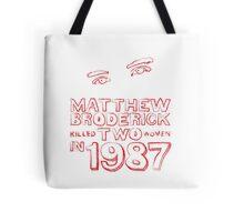 Matthew Broderick Tote Bag
