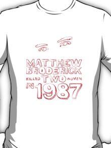 Matthew Broderick T-Shirt