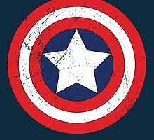 Captain America - Shield by PJ311