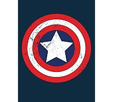 Captain America - Shield Photographic Print