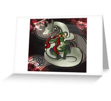 Raph Dragon King Greeting Card