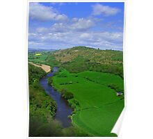 Symonds Yat,  Ross on Wye. nr Forest of Dean GLOS Poster