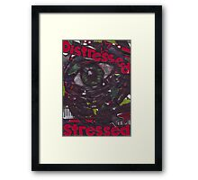 Distressed - ACEO Framed Print