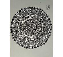 Zen Mandala Photographic Print