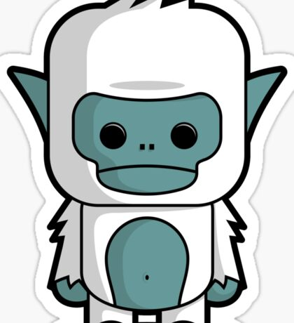Little Yeti Sticker