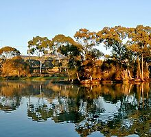 Morning Reflections by Steven  Agius