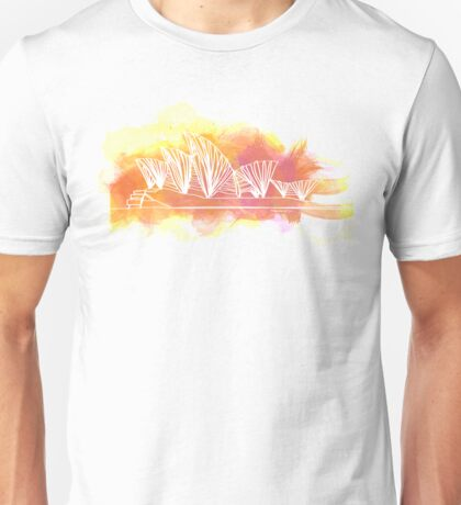 Sydney Opera House - Single Line Unisex T-Shirt