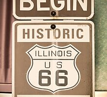 Route 66 - The Beginning by Alan Copson