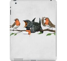 Cock Robin (wordless) iPad Case/Skin