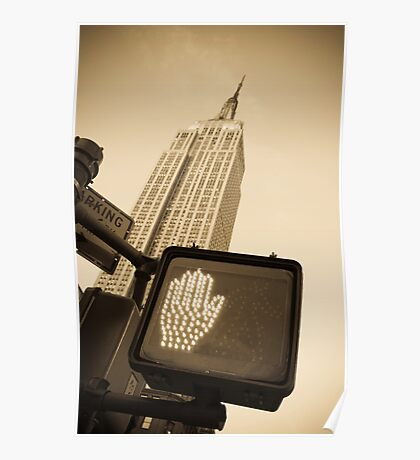 Empire State Building Poster