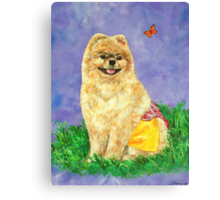 I Love Dressing Up Canvas Print