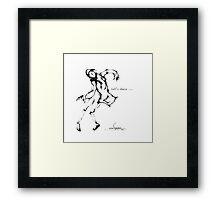 cool sketch 64 Framed Print
