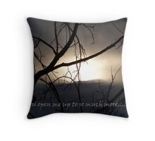 to see.... Throw Pillow