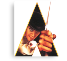Clockwork Orange Stanley Kunrick Canvas Print