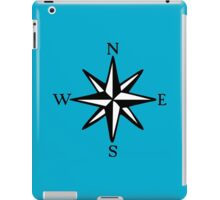 Compass Rose NOSW (two-color) iPad Case/Skin