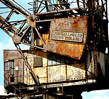 Rusty Crane by mistertof