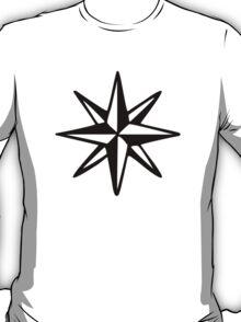 Compass Rose (Monochrome) T-Shirt