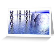 Above Water Greeting Card