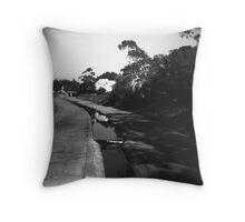 Elwood Canal Throw Pillow