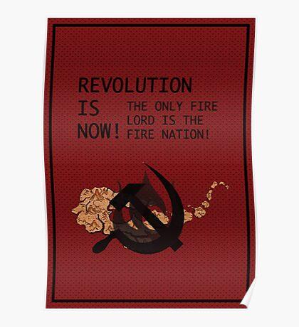 Flameo, Comrade! Poster