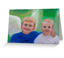 Heavenly Brothers Greeting Card