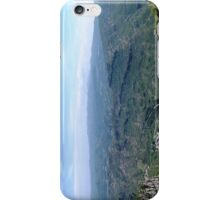 A View from Montserrat, Spain. iPhone Case/Skin