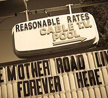 Route 66. Munger Moss Motel. Lebanon. Missouri. USA. by Alan Copson