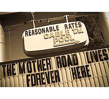 Route 66. Munger Moss Motel. Lebanon. Missouri. USA. Photographic Print