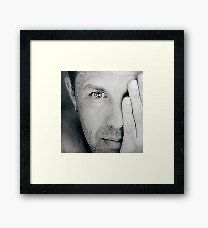 mono Framed Print