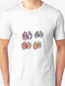 Multicolored conkers Unisex T-Shirt