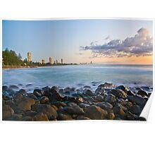Sunrise at Burleigh Poster