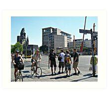 Hardenberg Platz Art Print