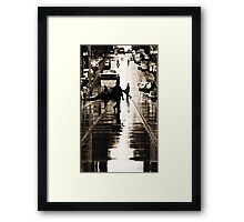 Street Walker2 Framed Print