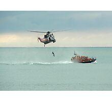 Sea Rescue Eastbourne Photographic Print