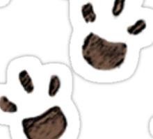 Paws on my Stuff Sticker