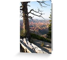 Rim of Bryce Canyon Greeting Card