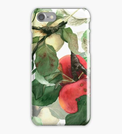 Watercolor apples iPhone Case/Skin