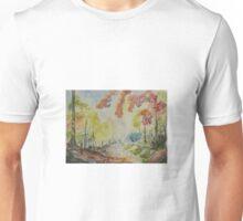 Autumn in watercolor Unisex T-Shirt