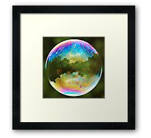 Planet Bubble Framed Print